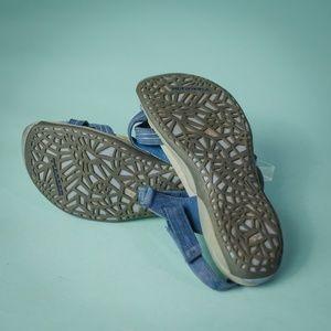 6938c271cd539 Merrell Shoes - Merrell 9 Blue Freesia Twilight Comfort Sandals